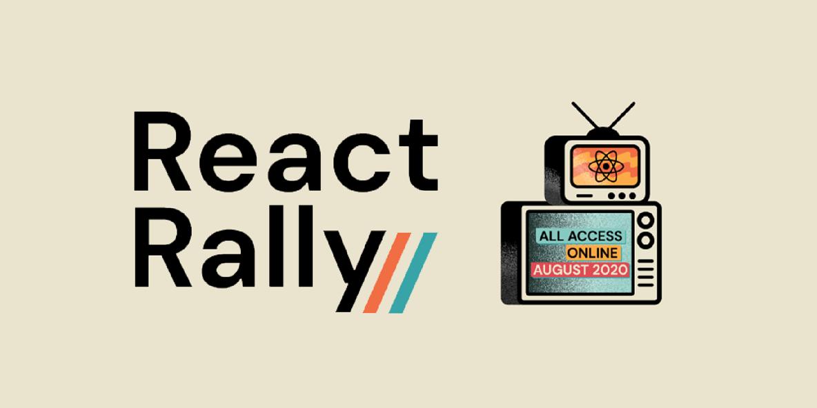 React Rally banner